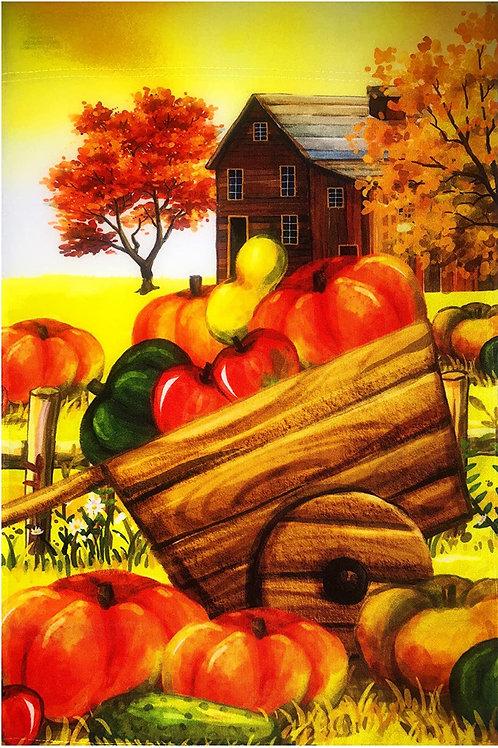 Farm House and Harvest