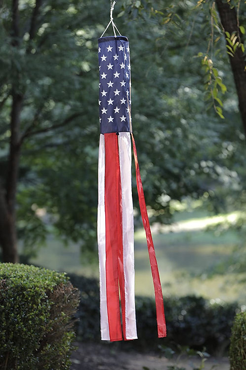 "51groups American Flag 60"" Windsock   Weatherproof   Show United States Patrioti"