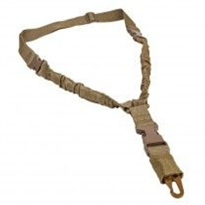 VISM® by NcSTAR® DELUXE SINGLE POINT BUNGEE SLING/ TAN