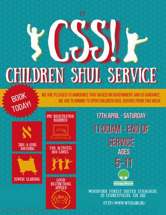 Children's Shul Service