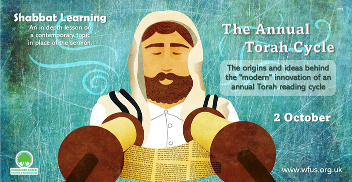 Shabbat Learning - The Annual Torah Cycle