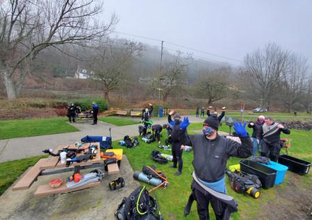 January Fun Dive: Les Davis Marine Park in Tacoma, WA