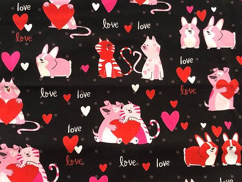 Valentine Cats & Dogs