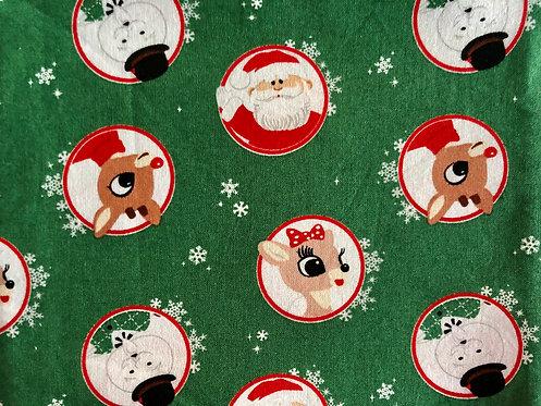 Santa, Rudolph & Frosty