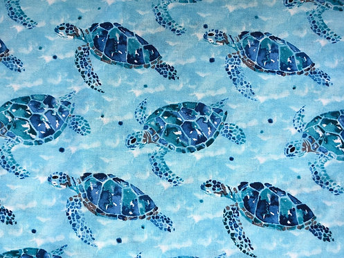 Sea Turtles Blue