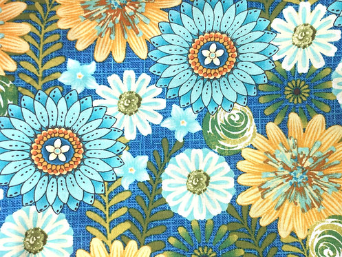 Blue & Yellow Flowers