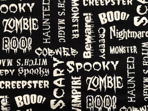 Glow in the Dark Halloween Words
