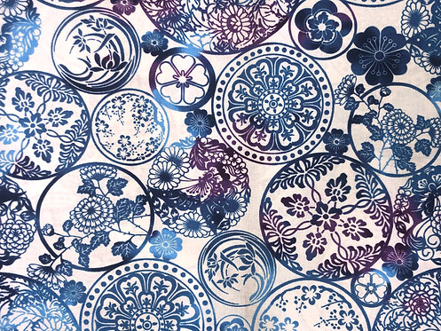 Blue & Purple Mandala