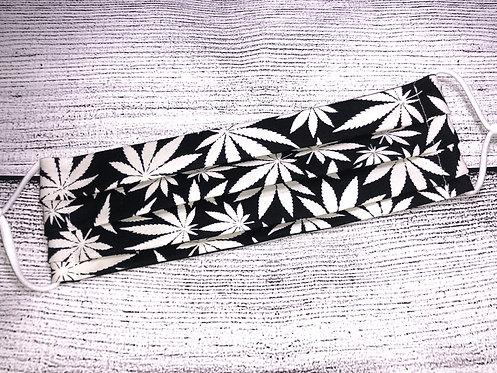 Marijuana 420 Mask -Glow in the Dark!!!
