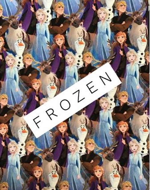 Disney Frozen Characters Print