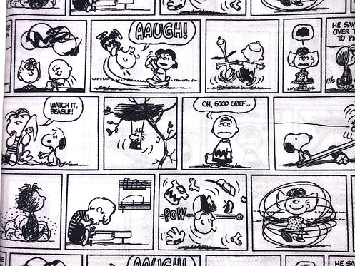 Charlie Brown Black & White