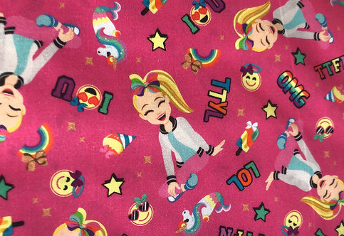 JoJo Siwa Pink Background