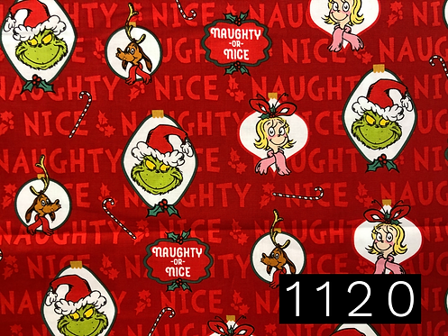Naught or Nice Red - The Grinch