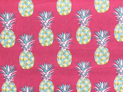 Pineapples on Pink