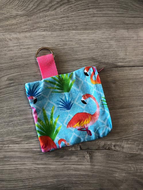 Flamingos Zipper Pouch