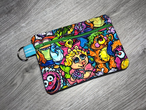 Medium Carry-All Pouch 80's Cartoons Throwback
