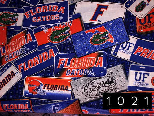 University of Florida Gators Plates
