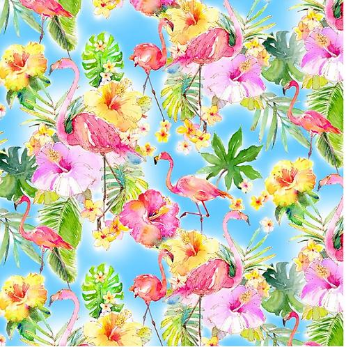 Flamingos in Paradise