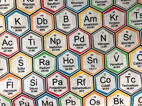 Periodic Hexagons