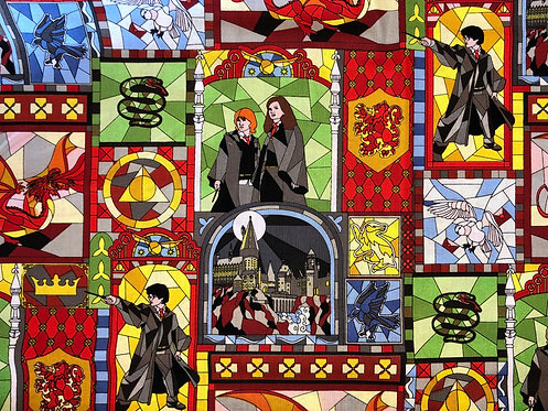 Harry Potter Stained Glass
