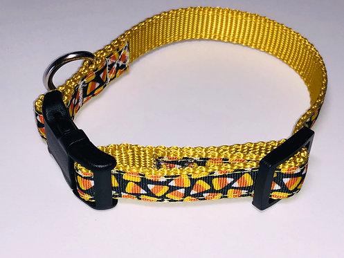 Candy Corn Dog Collar
