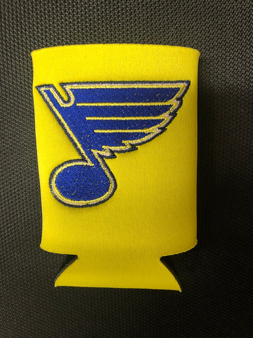 Blues Embroidered Coozie