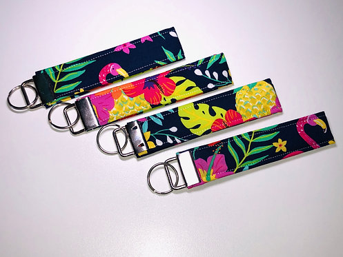 Tropical Key Fob | Tropical Wristlet | Tropical Key Chain