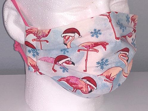 Santa Flamingos