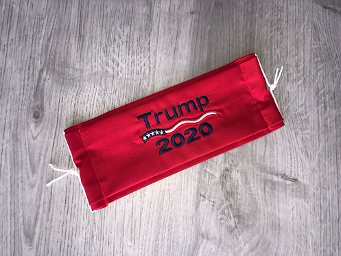 Red Embroidered Trump 2020