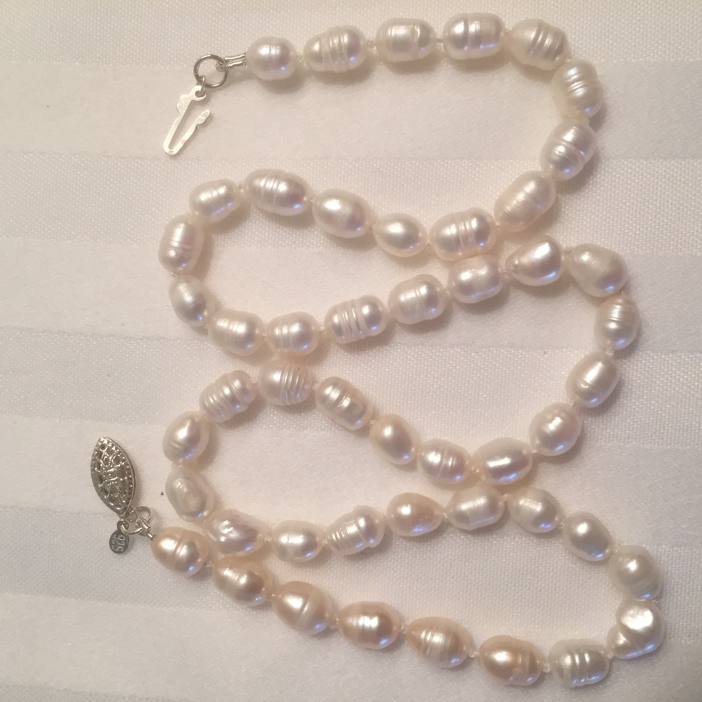 Freshwater Baroque Pearl Necklace 78mm 18 Inch