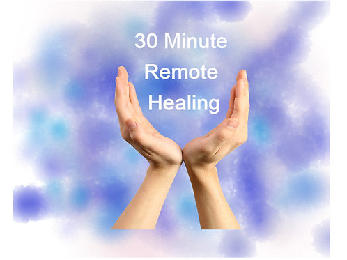 Remote Blue Ray Healing for People + Recording