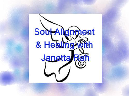 Soul Alignment & Healing Recording