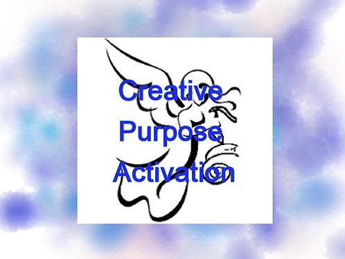 Creative Purpose Activation Recording