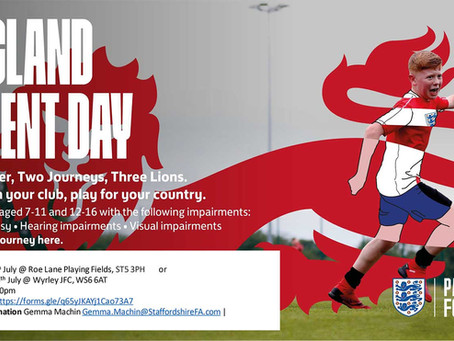 England Talent Day