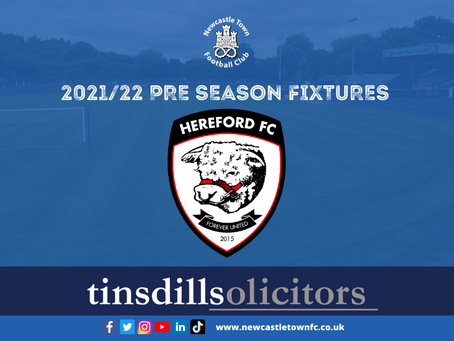 Hereford FC up next