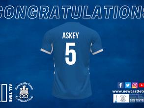 Congratulations James Askey