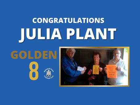 Julia Plant scoops final day Golden 8 Jackpot