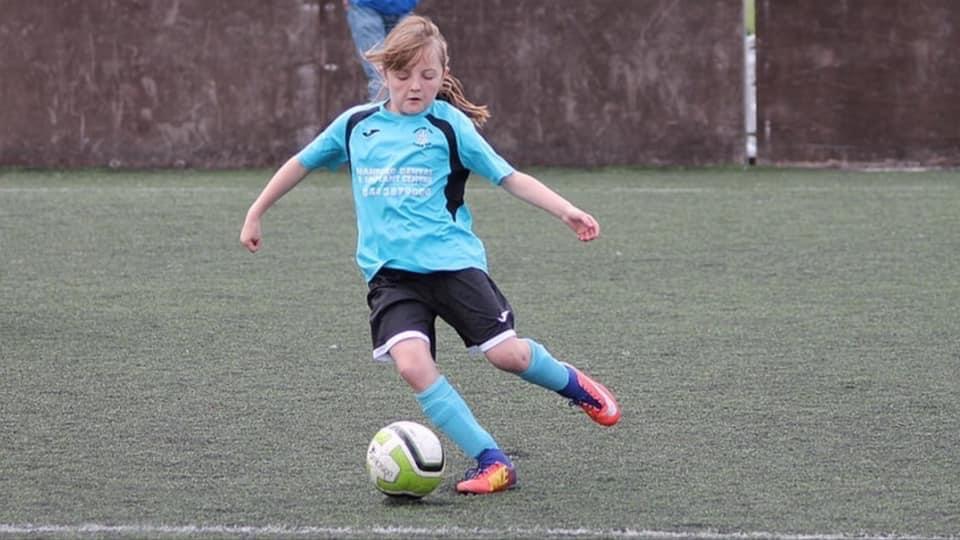 Newcastle Town FC girls football charter standard
