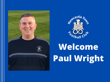 Welcome Paul Wright