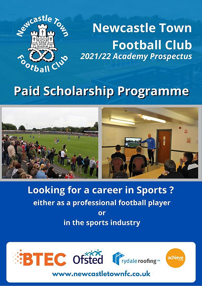 Newcastle Town FC _ Academy Prospectus 2