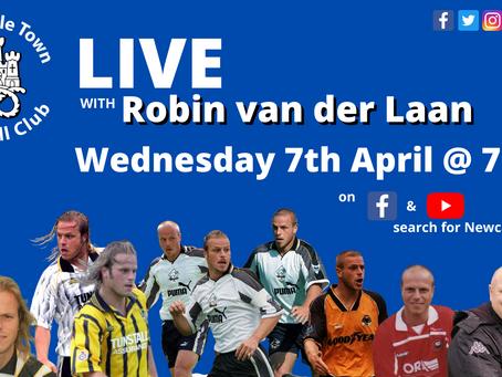 Q&A with Robin van der Laan
