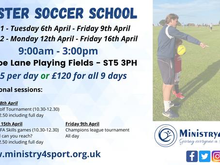 M4S Easter Soccer School