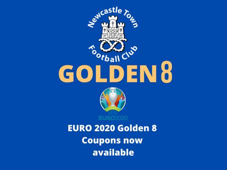 Euro2020 Golden 8 Coupons