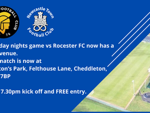 Rocester at Pointon Park