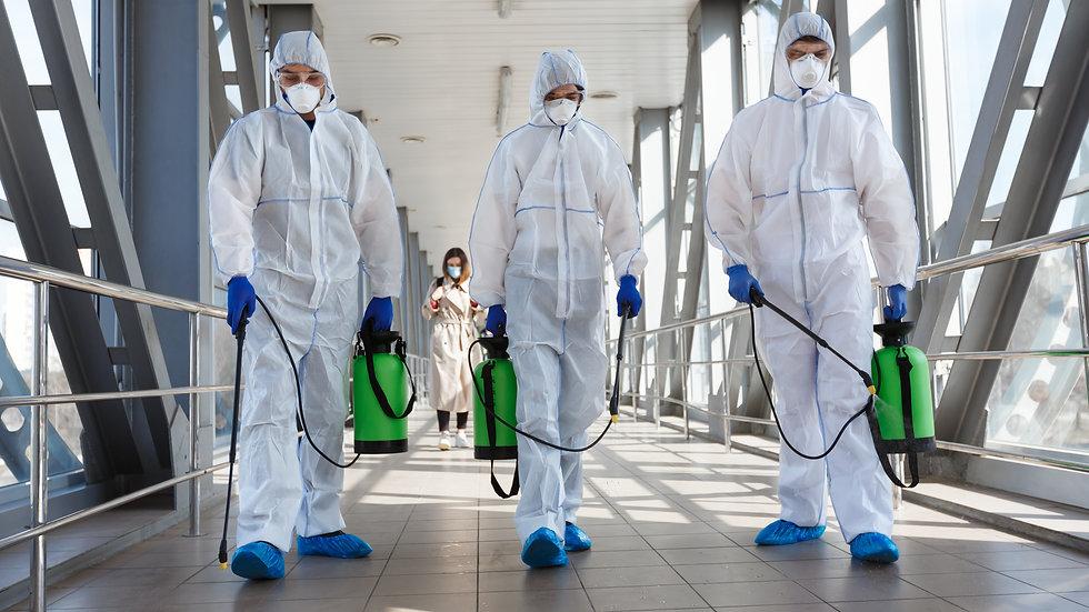 Industrial Sanitizing