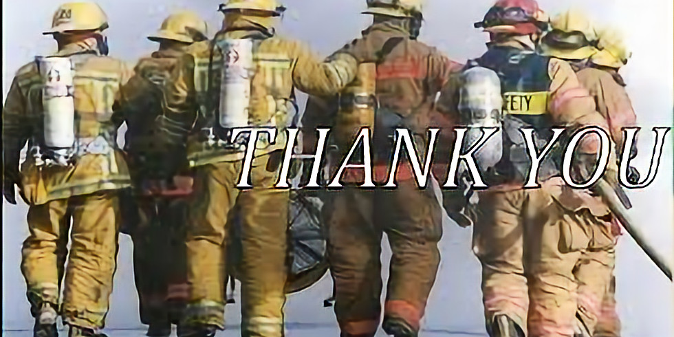 Thank-You Cards Delivery for Fire Fighters