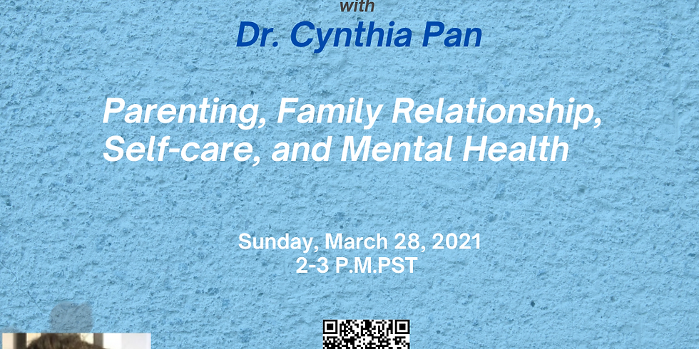 Lessons Learned from COVID-19 by national conference speaker Dr. Cynthia Pan