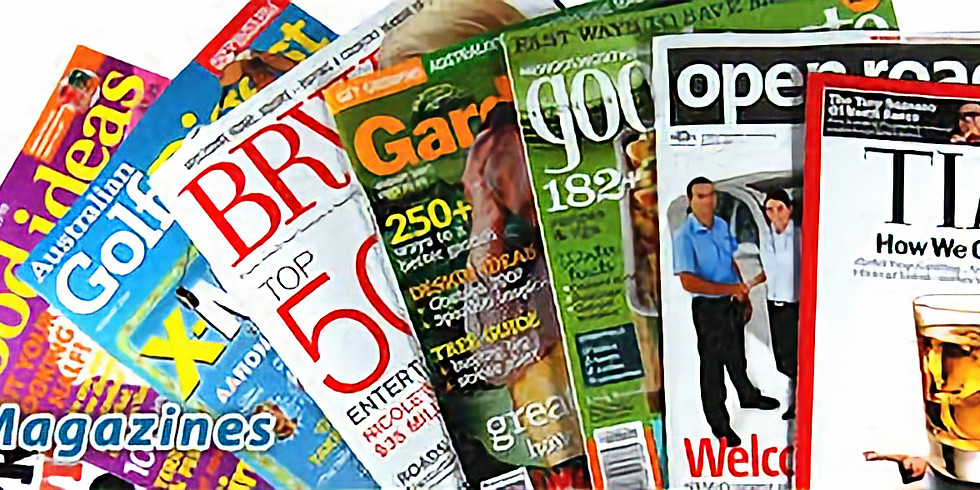 Everyday Old Magazine Donation Drive for Seniors at Nursing Homes