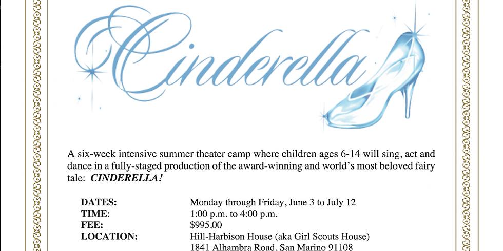 Summer Theater Camp- Rodgers & Hammerstein's Cinderella