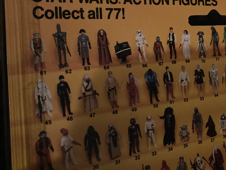 Star Wars Vintage Figure Display Project | Holochronicles #showmeyourcollection